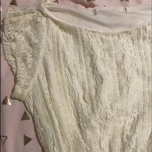 ASOS White Dress (XS), Short Sleeves